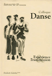 Colloque danse